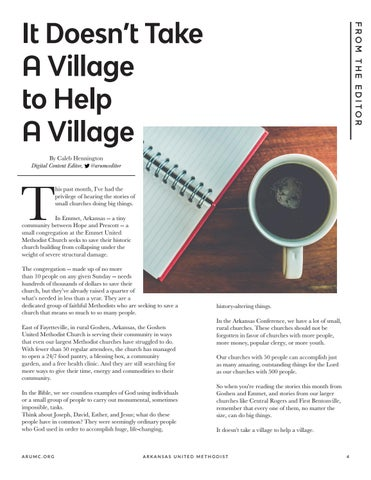 Page 5 of It Doesn't Take A Village to Help A Village