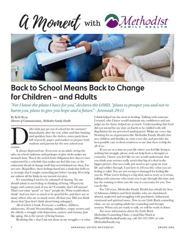 Page 8 of Back to School Means Back to Change for Children - and Adults