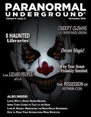 November 2016 Paranormal Underground by Paranormal