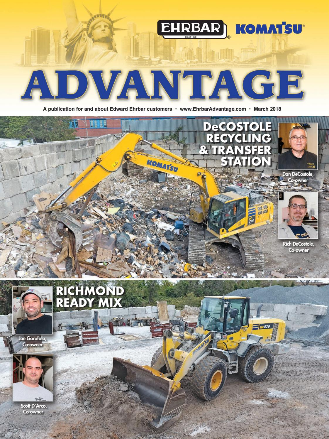 Ehrbar Advantage, March 2018 by Construction Publications