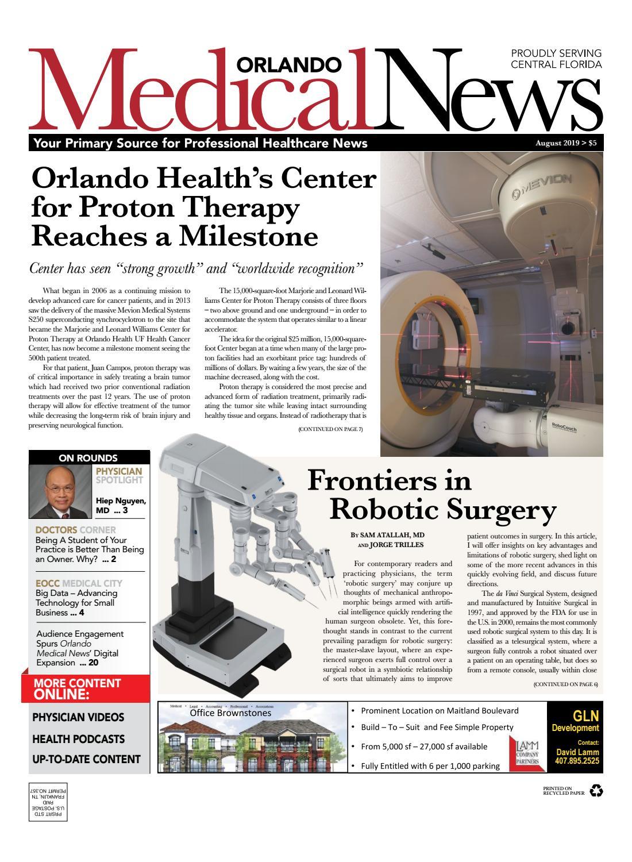 Orlando Medical News August 2019 by Orlando Medical News - issuu