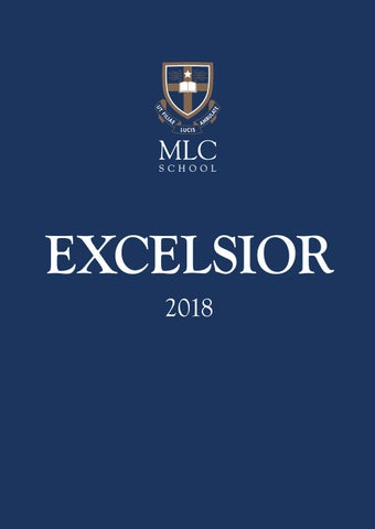 MLC School Excelsior 2018 by MLC School - issuu
