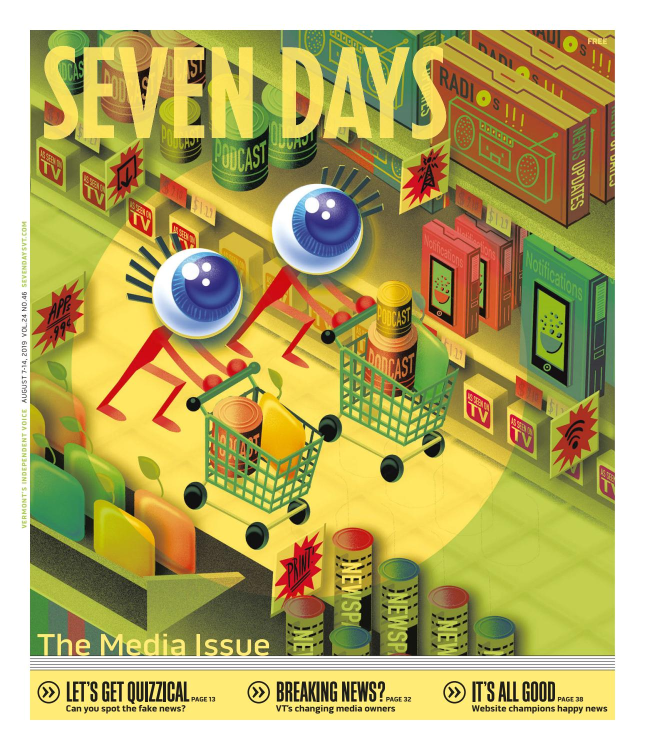 Seven Days, August 7, 2019 by Seven Days - issuu
