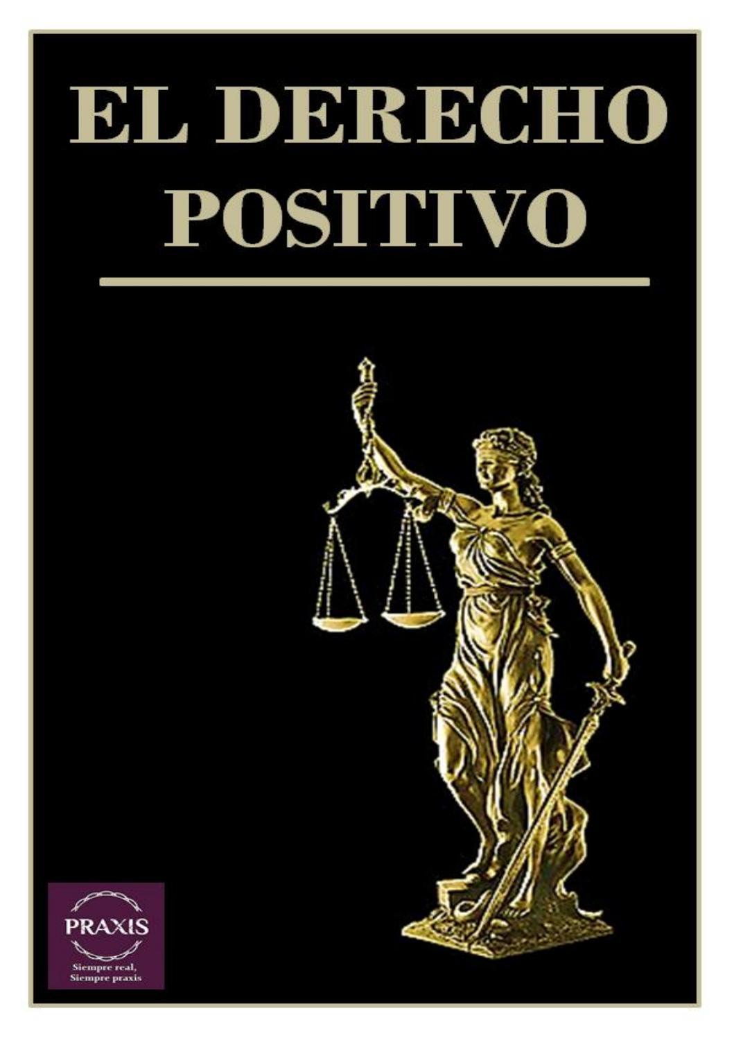 El Derecho Positivo By Praxis Capital