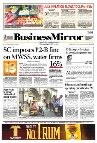 BusinessMirror August 07, 2019 by BusinessMirror - issuu