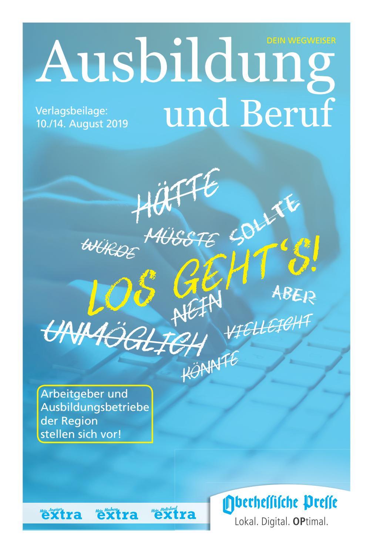 Ausbildung Und Beruf 1014082019 By Hitzeroth
