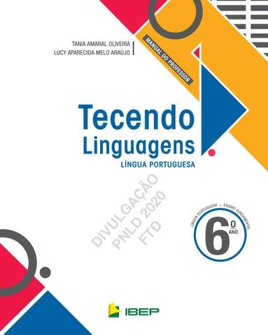 Portugues Tecendo 6 By Editora Ftd Issuu