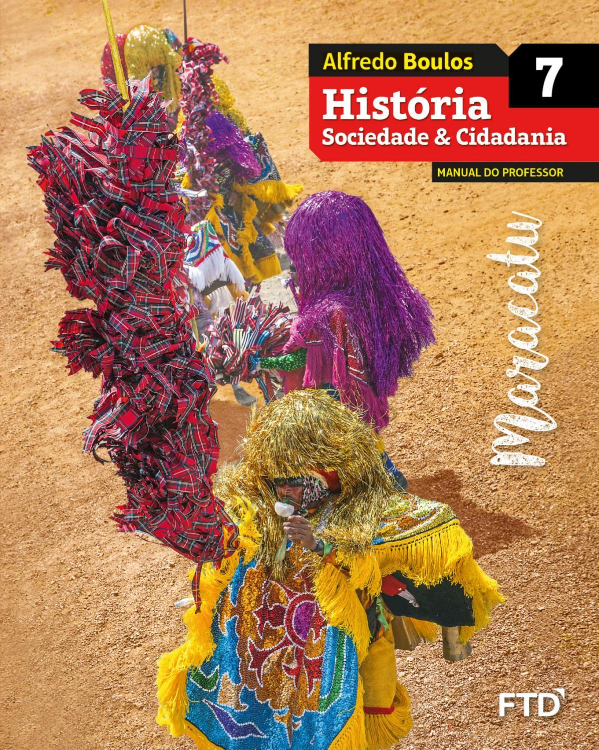 Historia Sociedade 7 By Editora Ftd Issuu