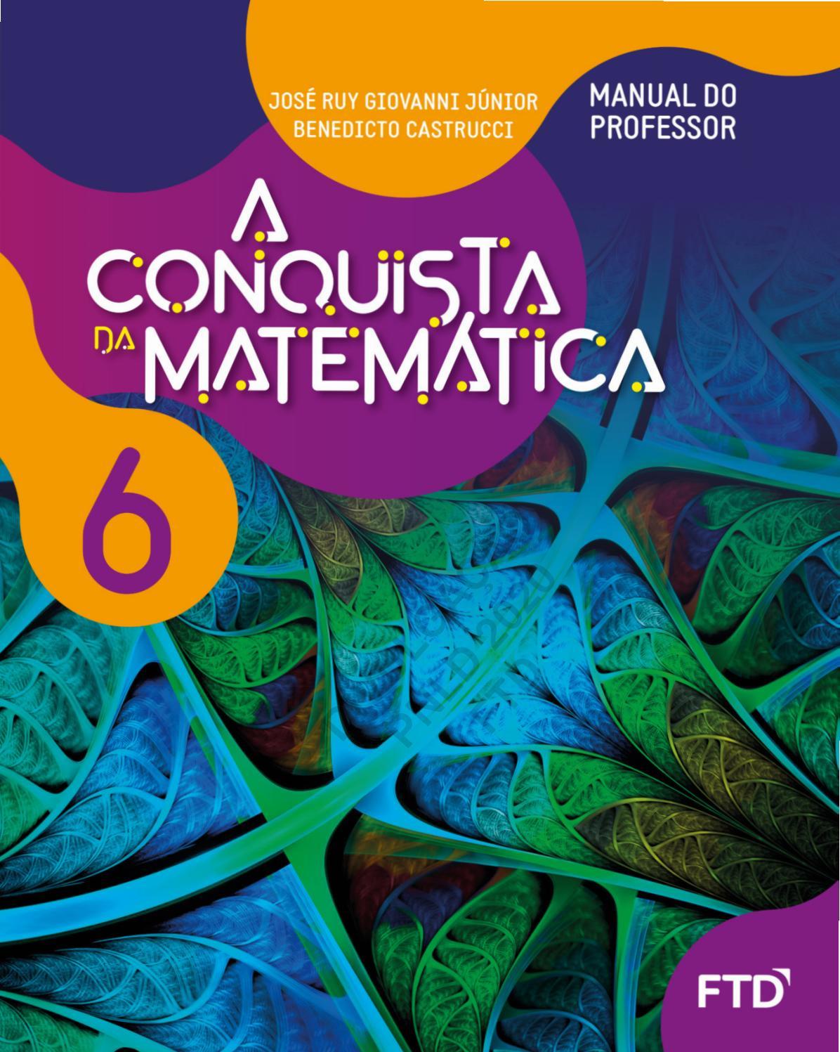 Matematica Conquista 6 By Editora Ftd Issuu