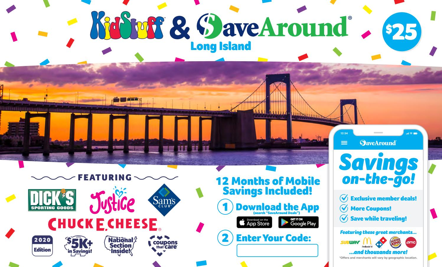 Long Island NY by SaveAround - issuu