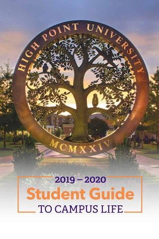 Uncg Final Exam Schedule Spring 2020.2019 2020 Guide To Student Life By High Point University Issuu