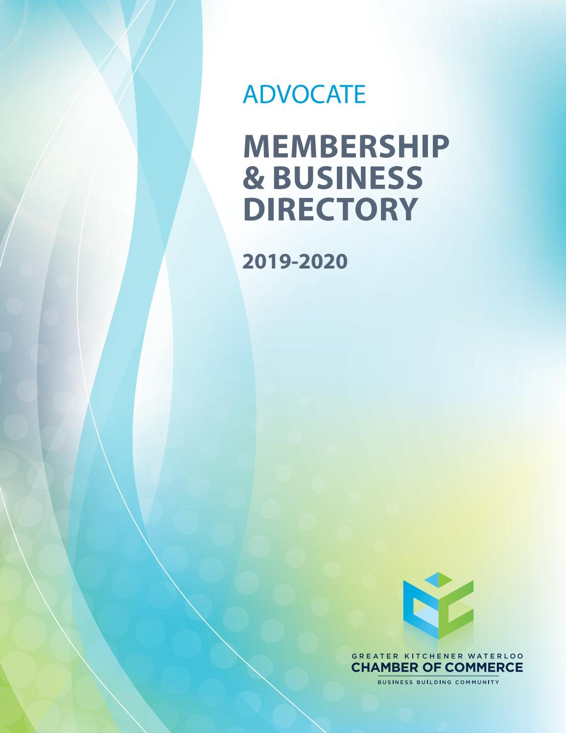 Membership And Business Directory 2019 2020 By Natalie Hemmerich