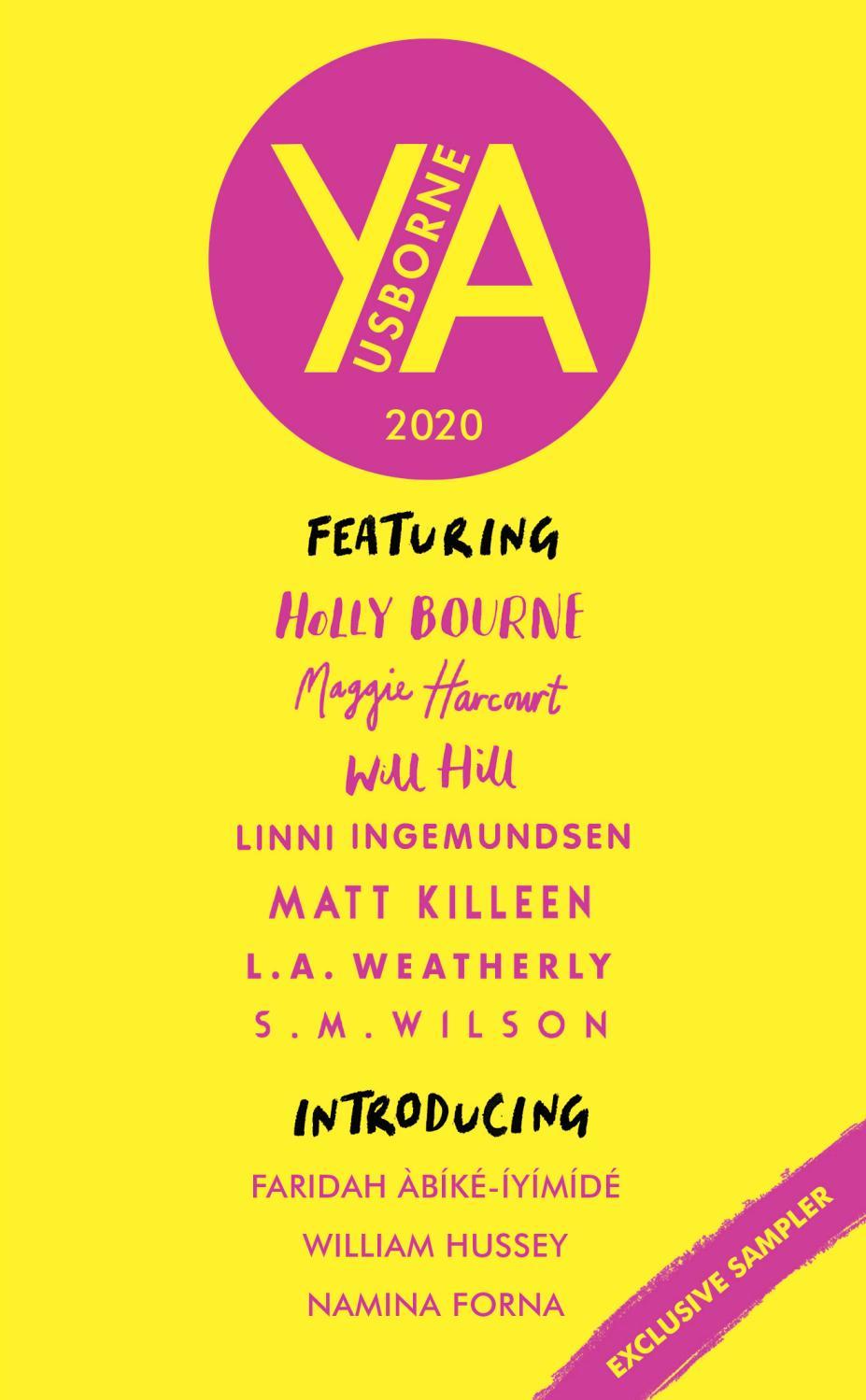 Usborne YA Fiction Sampler 2020 by Usborne Publishing - issuu
