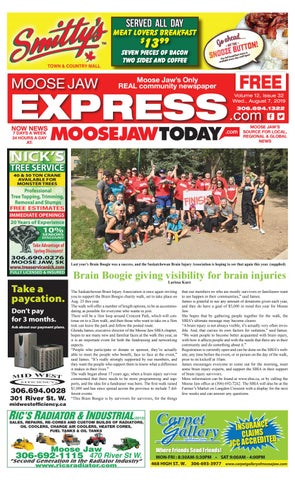 Moose Jaw Express August 7, 2019 by Moose Jaw Express - issuu