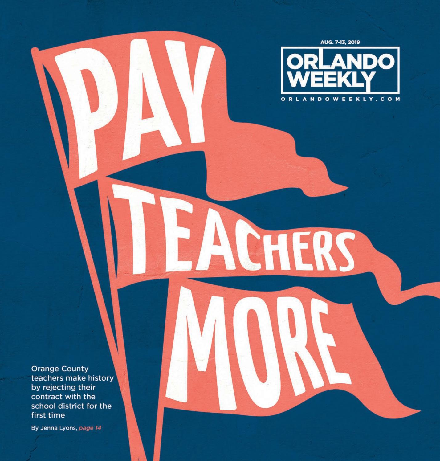 Orlando Weekly August 7, 2019 by Euclid Media Group - issuu