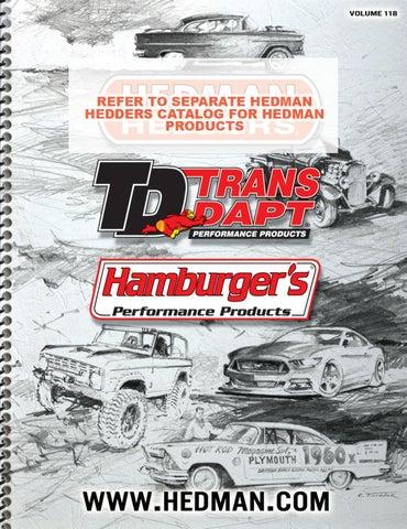 TRANS-DAPT & HAMBURGER'S PERFORMANCE Products Catalog by