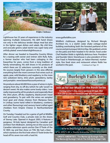 Page 15 of Eat, Golf and Sip your way through the Kawarthas