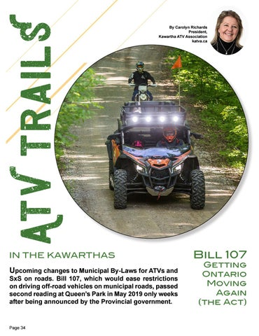 Page 34 of ATV Trails by KATV President Carolyn Richards
