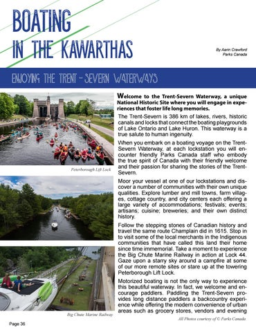 Page 36 of Boating along the Trent-Severn in the Kawarthas