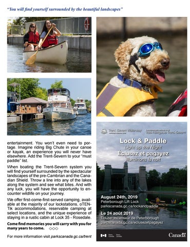 Page 37 of Boating along the Trent-Severn in the Kawarthas
