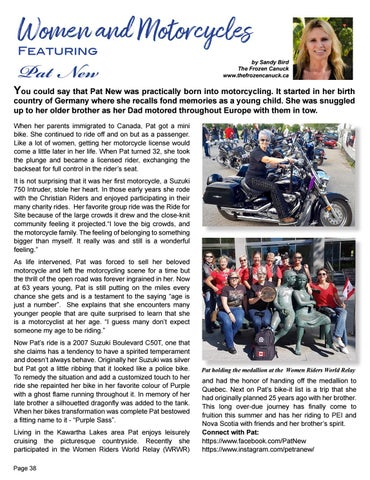 Page 38 of Women and their Motorcycles