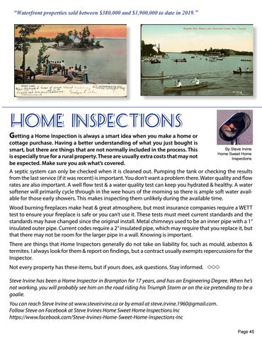 Page 45 of Home Inspections