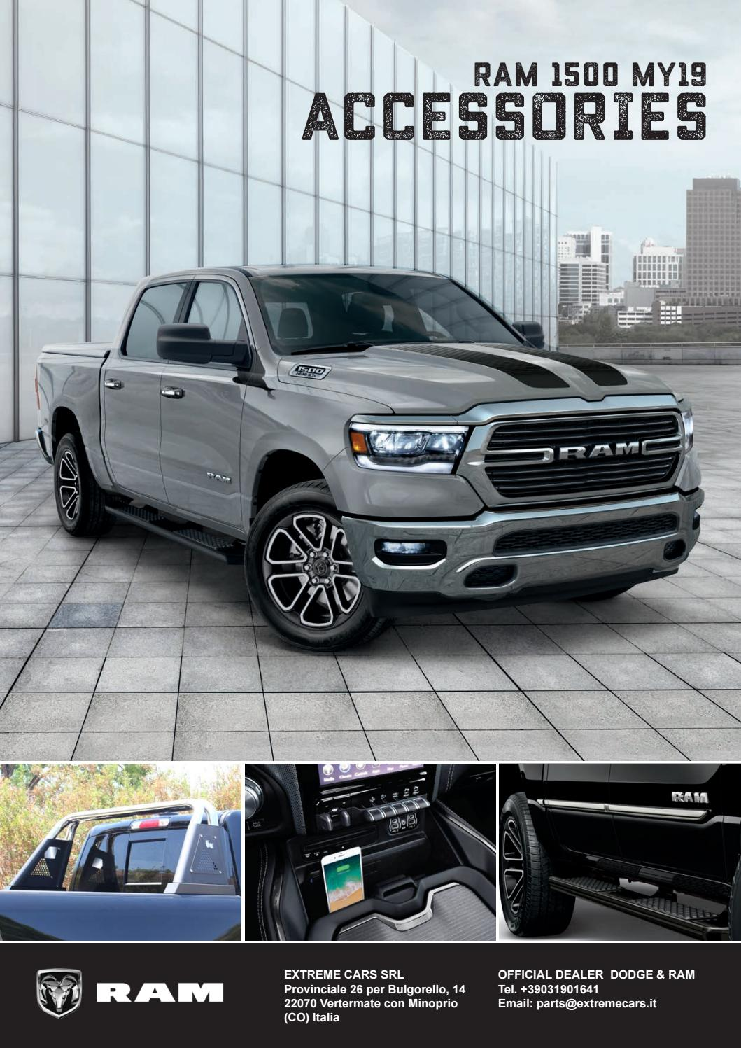 Ram 1500 Dt 2019 2020 Catalogo Accessori By Extreme Cars Srl Issuu