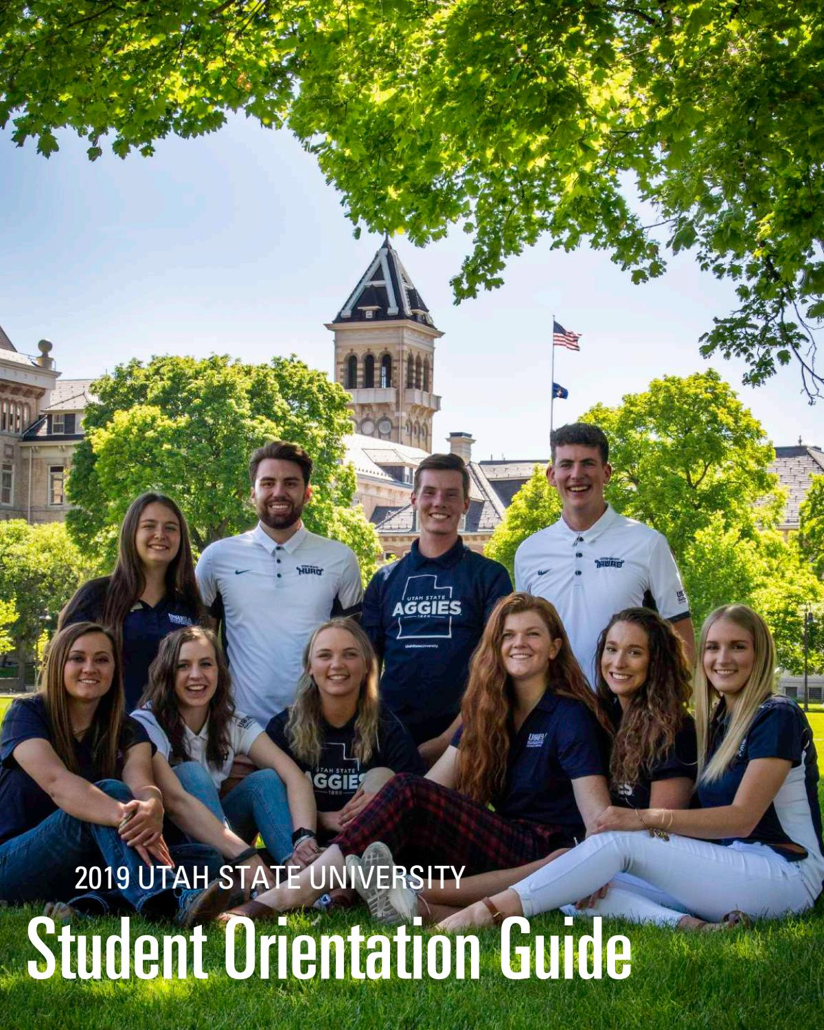 Utah State University Spring Break 2020.Utah State University Orientation Guide 2019 By Usu Digital