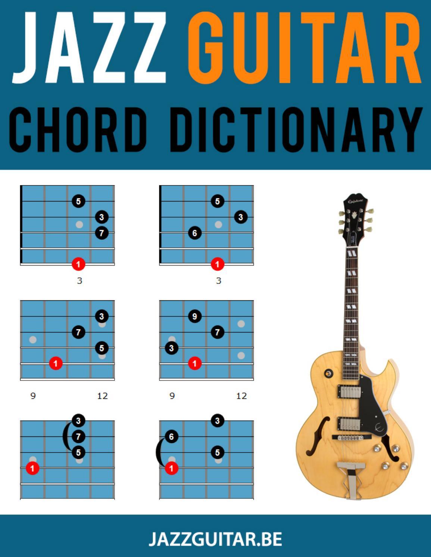 The Jazz Guitar Chord Dictionary by Sebastian Pinto   issuu