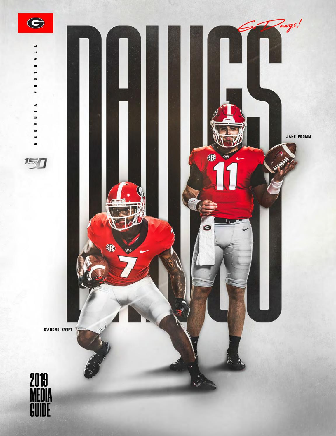 2019 Georgia Bulldogs Football Media Guide By Georgia Bulldogs Athletics Issuu