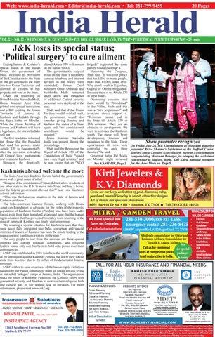 India Herald 080719