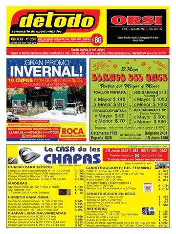 Semanario Detodo Edición N° 3270 08082019 by Semanario