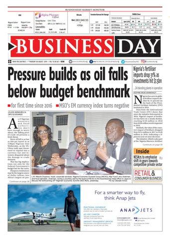 BusinessDay 08 Aug 2019 by BusinessDay - issuu
