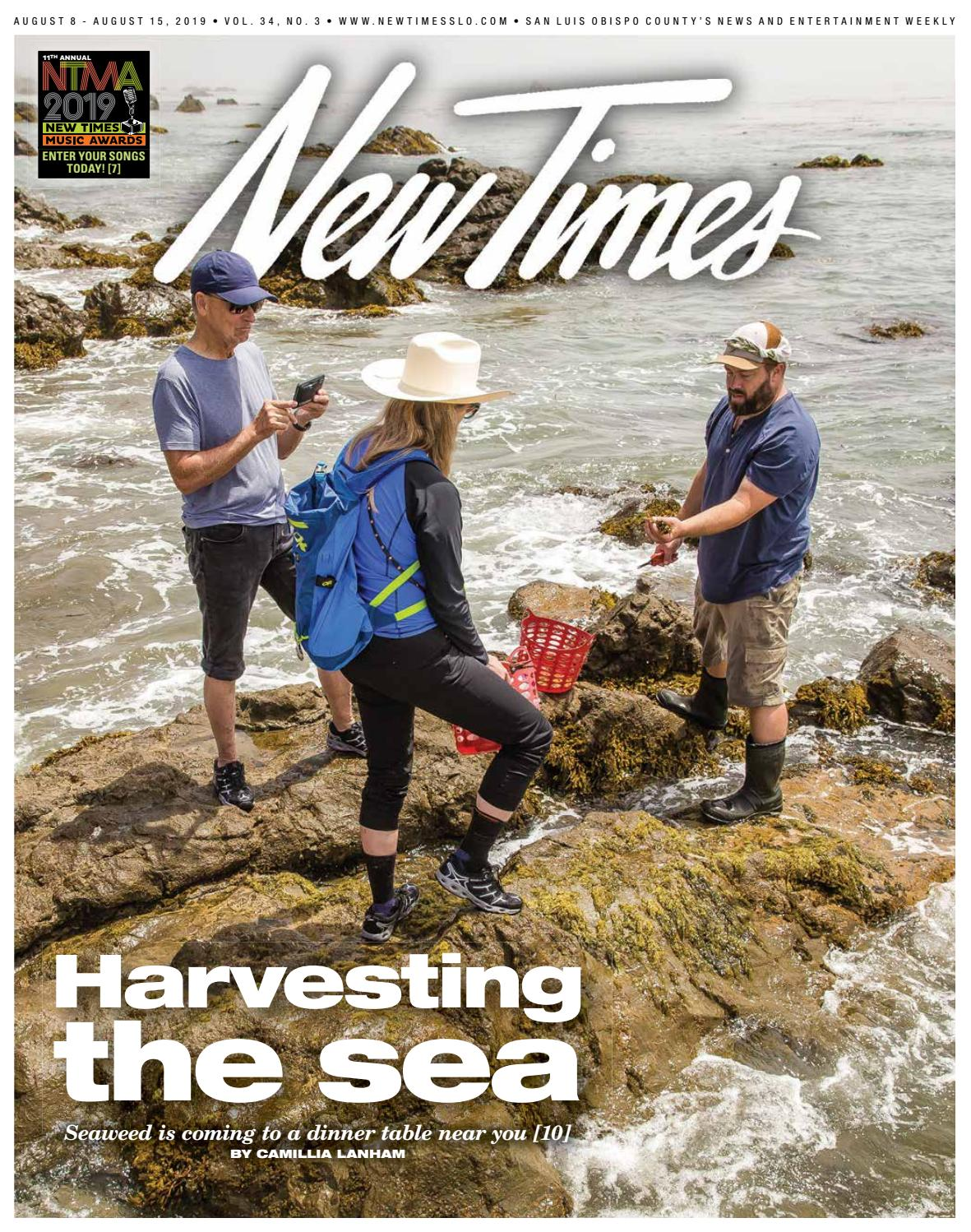 New Times, Aug  8, 2019 by New Times, San Luis Obispo - issuu
