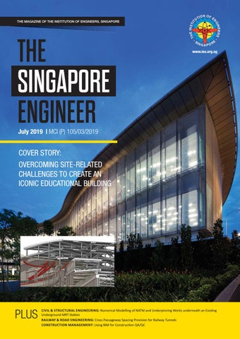 The Singapore Engineer July 2019 by The Singapore Engineer