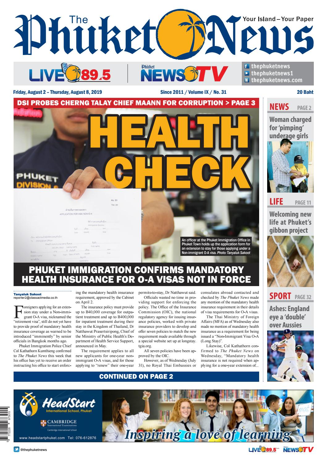 The Phuket News August 2 2019 By Image Asia Issuu