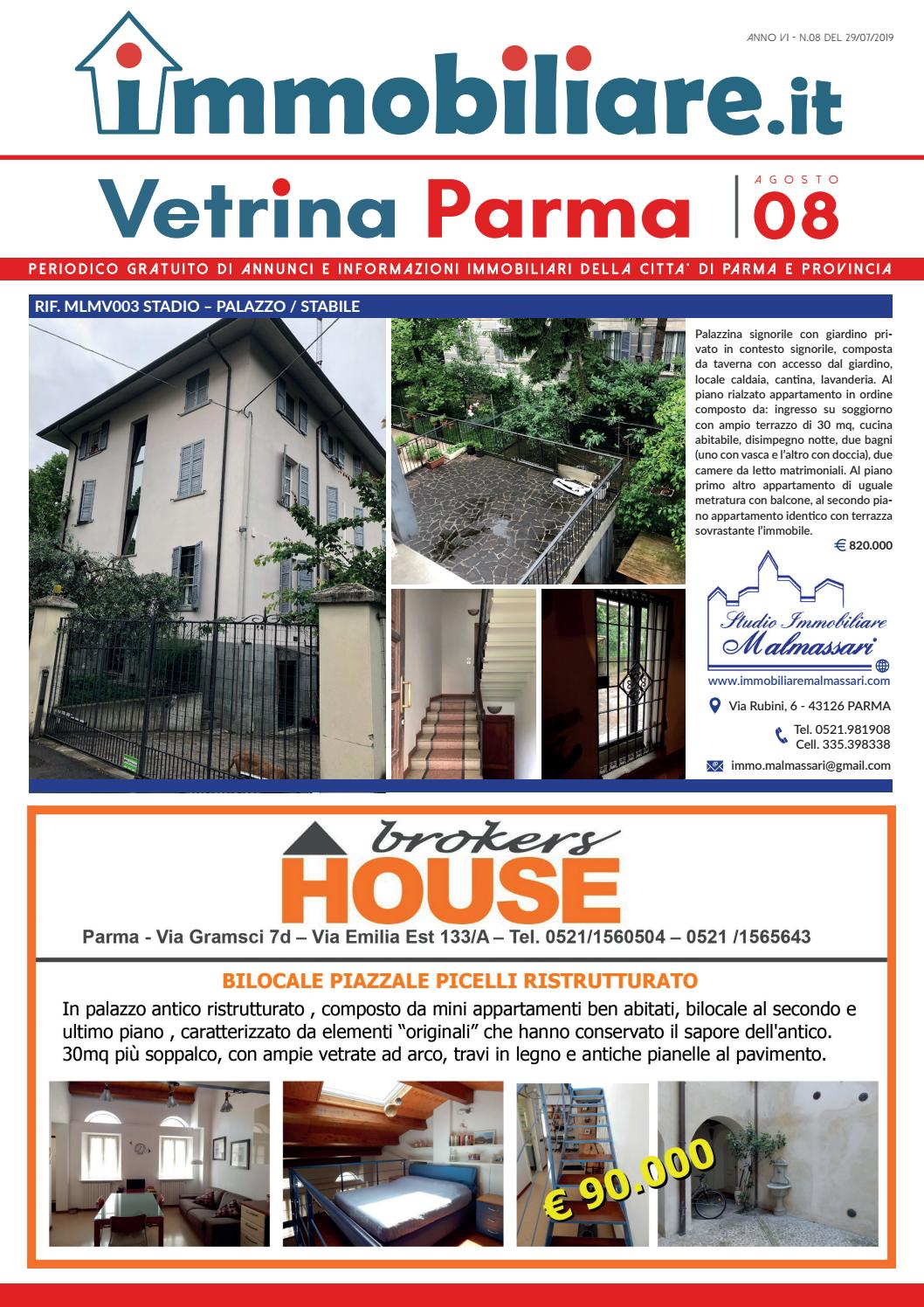Vetrina Cased Parma 08 2019 By Press One Srl Issuu