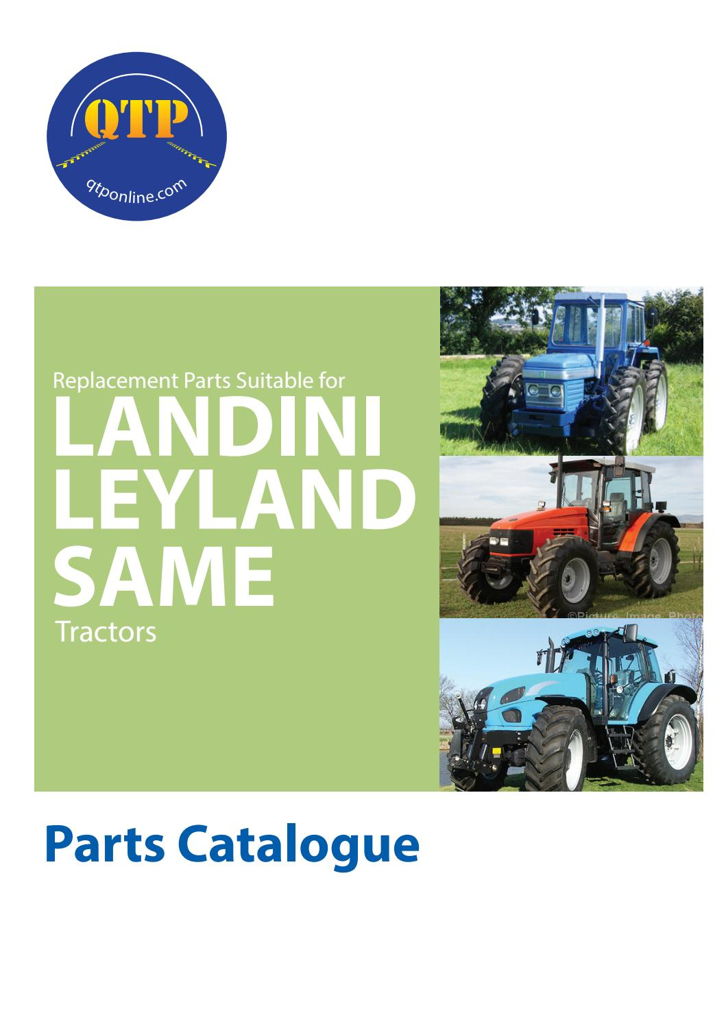 17 Landini Leyland Same by Quality Tractor Parts - issuu