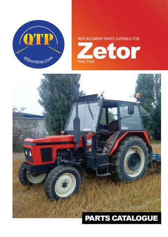 9 zetor by Quality Tractor Parts - issuu on