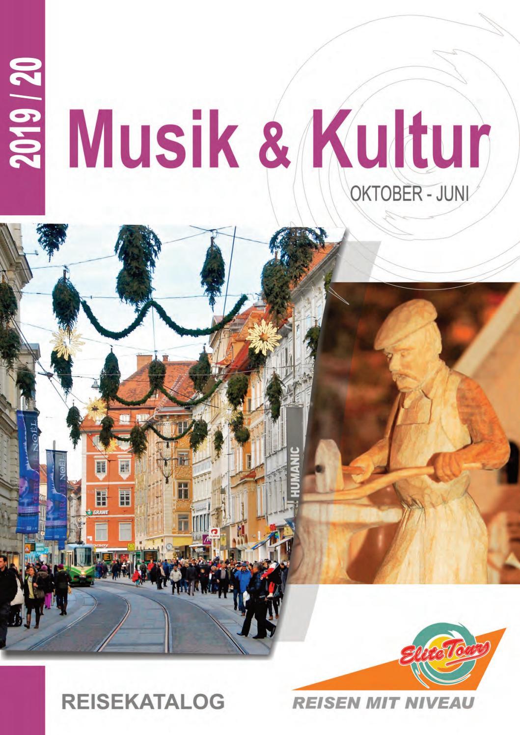 Elite Tours Musik und Kultur 19/20 by Elite Tours Reisebüro ...