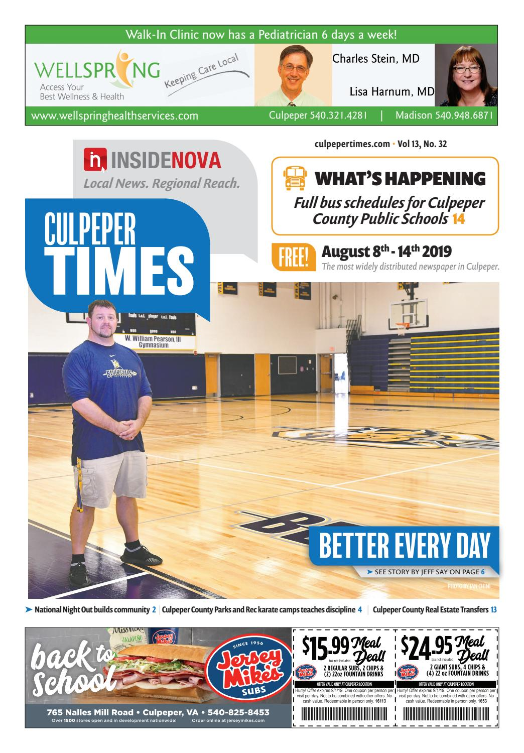 Culpeper Times | Aug  8-14 by InsideNoVa - issuu