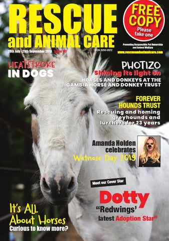 57c84defc Rescue and Animal Care Magazine July Sept 2019 by Rescue and Animal ...