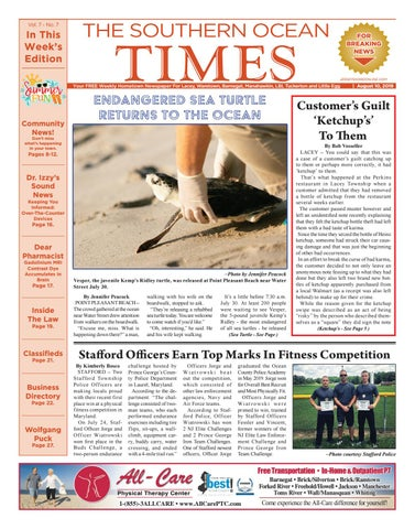 2019 08 10 The Southern Ocean Times By Micromedia Publications Jersey Shore Online Issuu