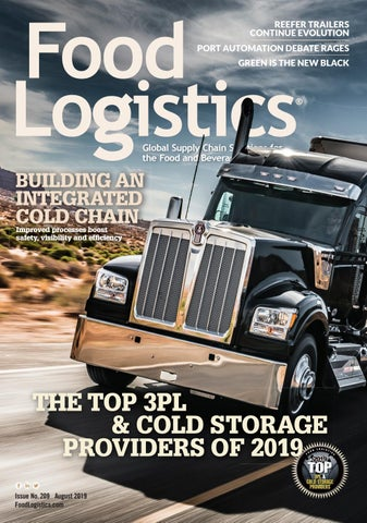 Food Logistics August 2019 by Supply+Demand Chain/Food