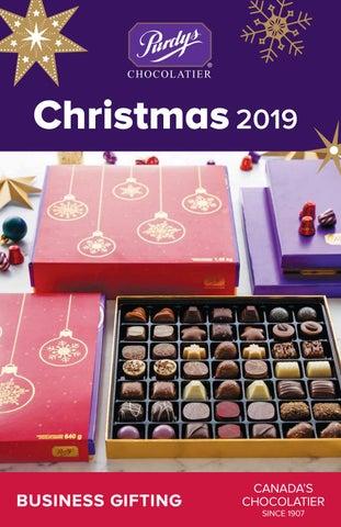 Christmas Business Gifts.Purdys Chocolatier 2019 Christmas Business Gifts Catalogue