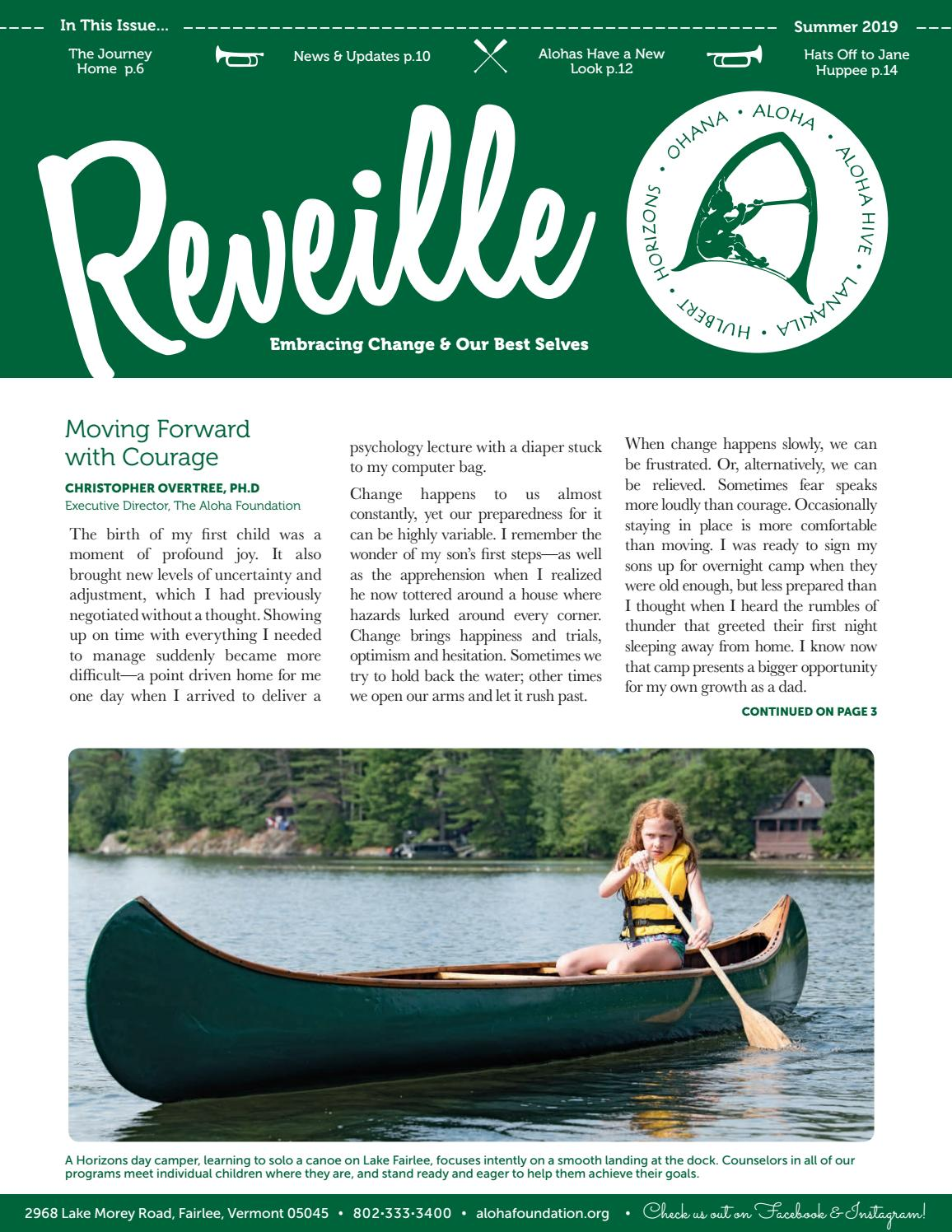 Summer 2019 Reveille by The Aloha Foundation - issuu