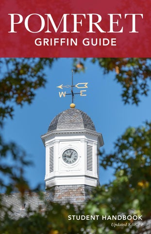 Griffin Guide by Pomfret School - issuu