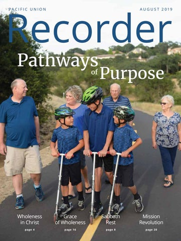 Pacific Union Recorder —August 2019 by Pacific Union