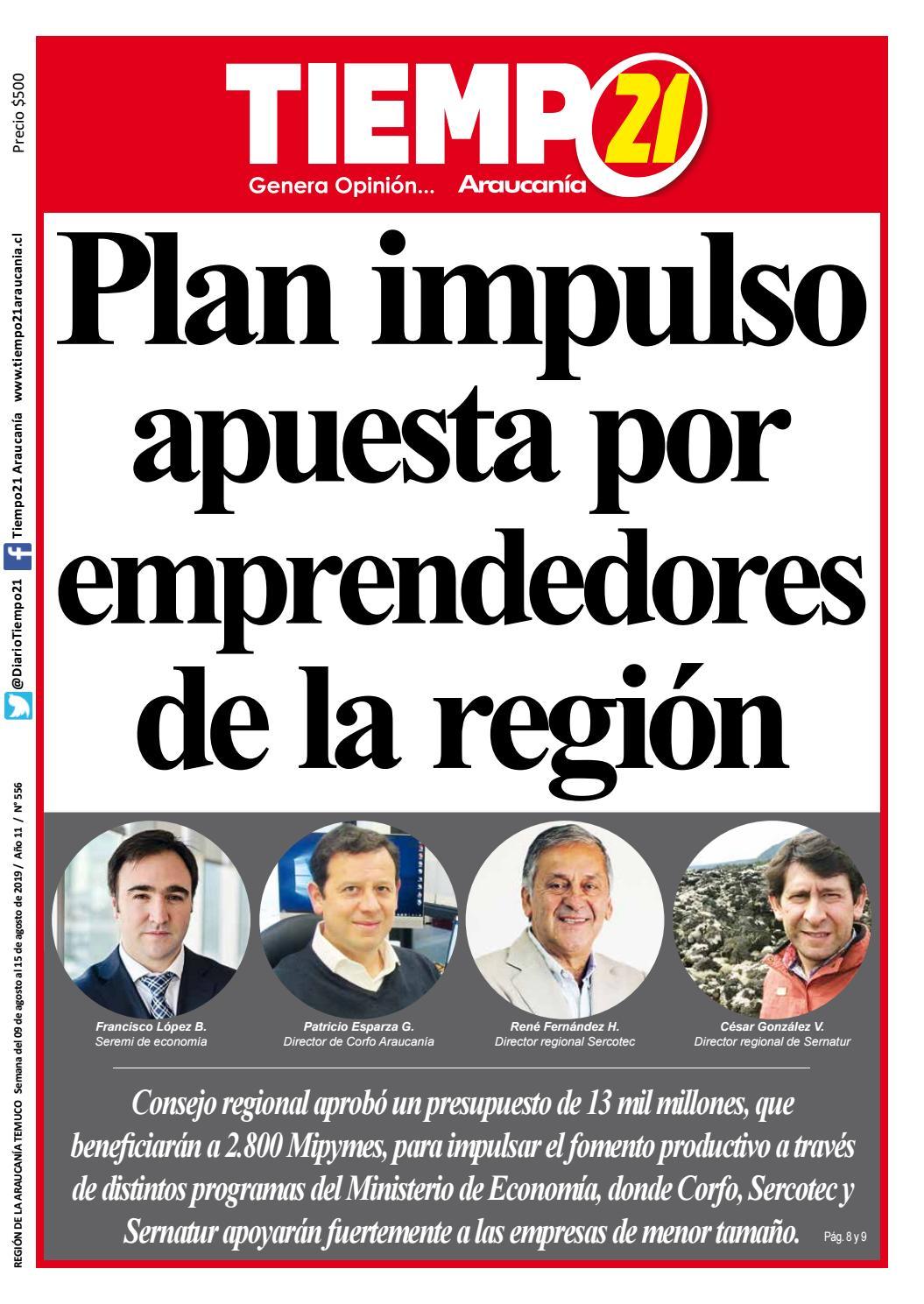 1d999715a Edición N° 556: Plan impulso apuesta por emprendedores de la región ...