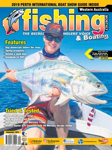 Western Australia Fishing Monthly September 2019 by Fishing